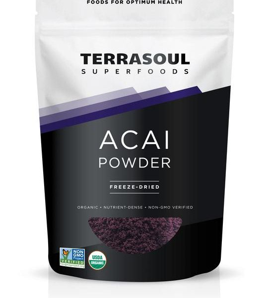 terrasoul acai berry powder
